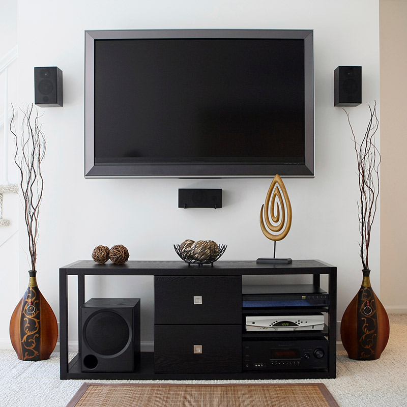 Deluxe Home Theater Audio Installation in Los Angeles and Orange County